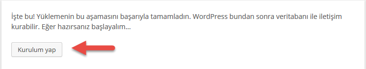 Adım adım wordpress kurulumu 10