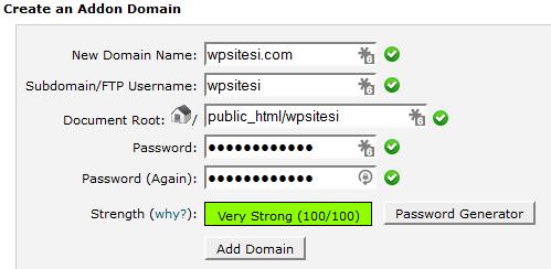 domains-addon-eklemek