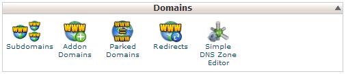 domains-menu