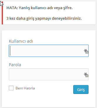 limit-login-attempts-yanlis-giris-uyarisi