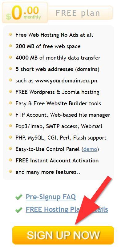 free-eu-hosting-ozellikler