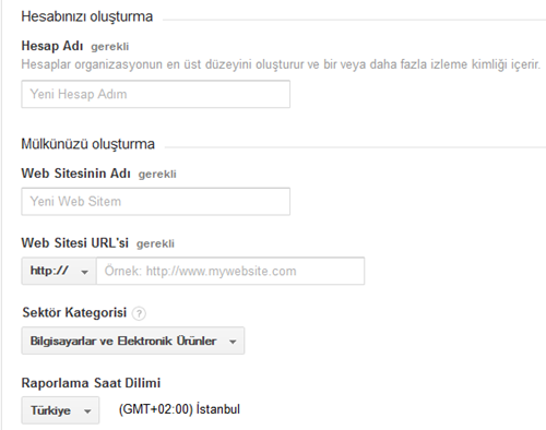 google-analytics-hesap-olusturma