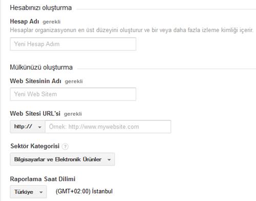 google-analytics-hesap-olusturma