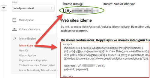 google-analytics-kimlik-bilgileri