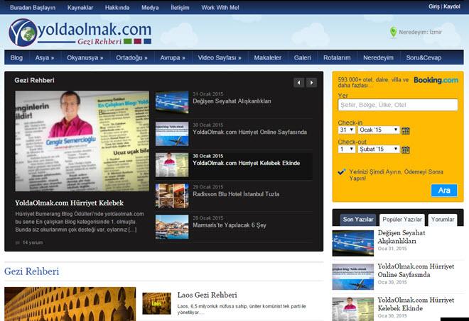Sitenin 31 Ocak 2015 günü alınmış ekran görüntüsüdür.