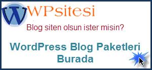 Wordpress Site Tasarım Paketleri