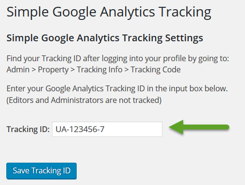 Simple-Google-Analytics-Tracking-kod-girme
