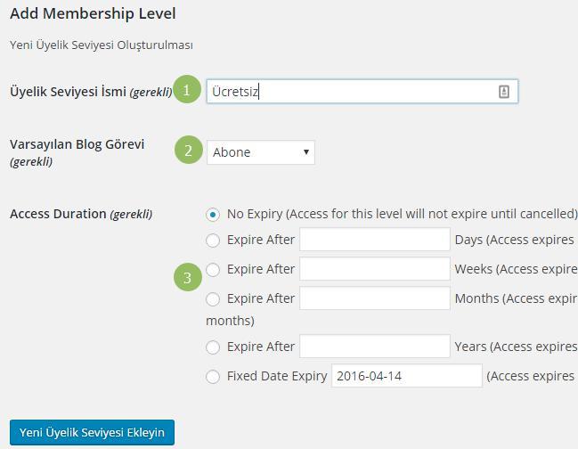 blog-uyeligi-yeni-uye-seviyesi-ekleme